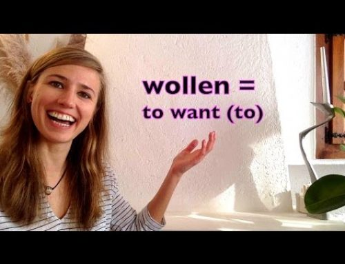 "GERMAN LESSON 34: The German MODAL VERB ""WOLLEN"" (want to) – Green Way"