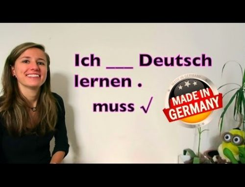 "GERMAN LESSON 36: The German MODAL VERB ""MÜSSEN"" (have to/ must) – Green Way"