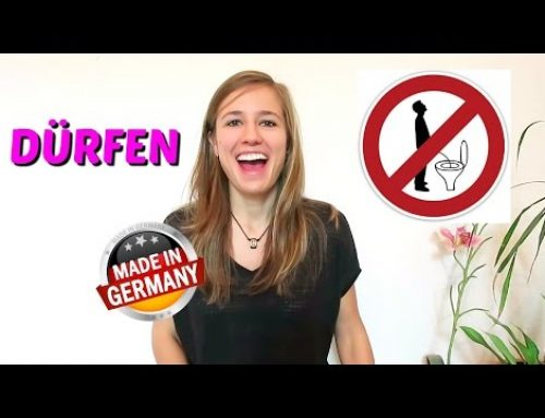 "GERMAN LESSON 37: The German MODAL VERB ""DÜRFEN"" (to be allowed to) – Green Way"