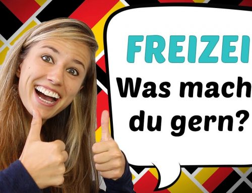 GERMAN LESSON 50: Was machst du in deiner Freizeit? // Hobbies auf Deutsch – Green Way