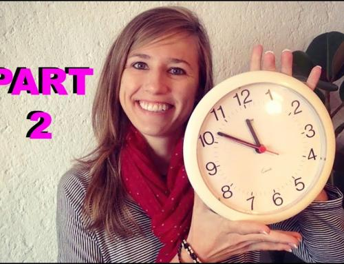 How to tell the TIME in German (part 2) – Green Way
