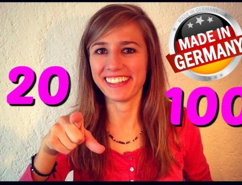 Quickly Learn the German Numbers from 20 to 100 – Green Way